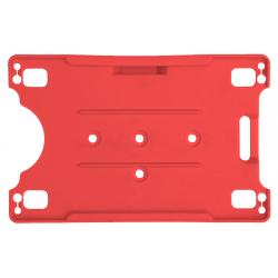 Horizontale open kaarthouder. Verkrijgbaar in verschillende kleuren.