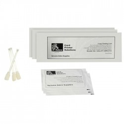 Zebra ZXP Series 7 Print Station Cleaning Kit (Includes 12 feeder and print path cleaning cards for60,000 prints)