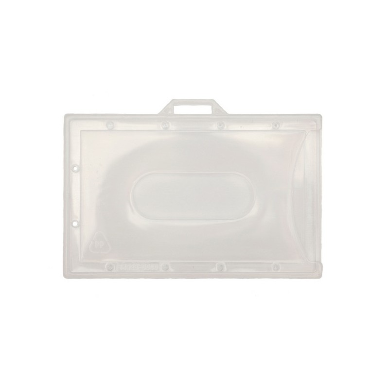 Ecologische horizontale open kaarthouder welke ontworpen is om maximale zichtbaarheid te geven aan de pas.